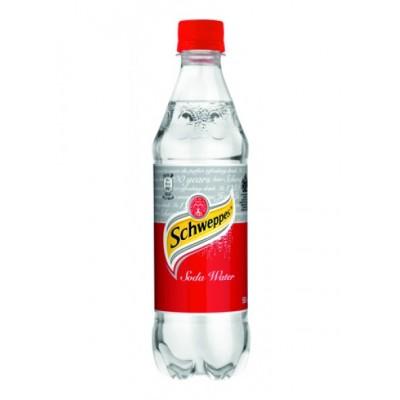 Schweppes Σόδα (μπουκαλάκι) 500ml