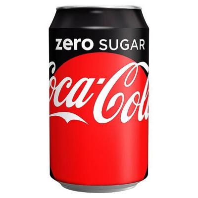 Coca cola Zero (κουτάκι)