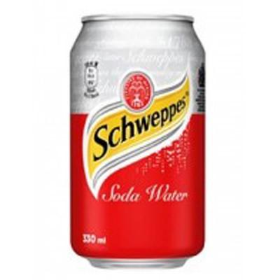 Schweppes Σόδα (κουτάκι)