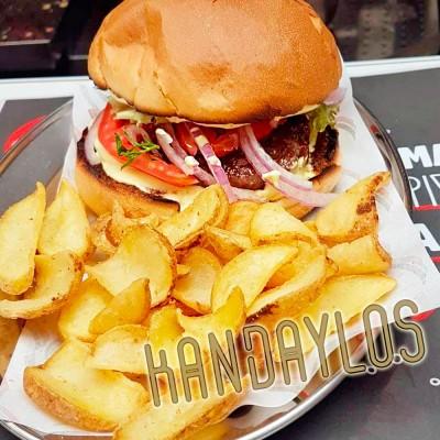 Burger Angus Βόειο